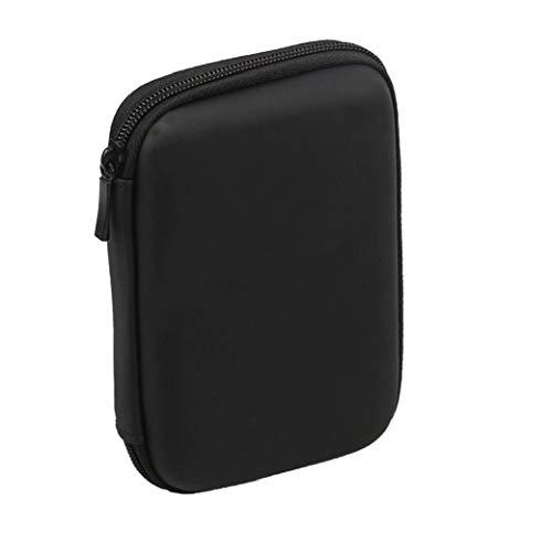 Sanfiyya Mini USB 3.0 / USB 2.0 1TB Disco Duro Externo Móvil 301558 Compacto Disco Duro Portátil Case Negro