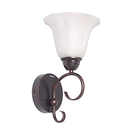 FXLYMR Lámpara de Pared Candelabro Moda de Lujo Lámparas Y Linternas Europeas Sala de Estar Dormitorio Moderno Minimalista Led Lily