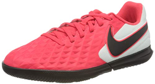 Nike At5882-606_35,5, Entrenadores de fútbol Sala Unisex Adulto, Laser Crimson Black White, 35.5 EU