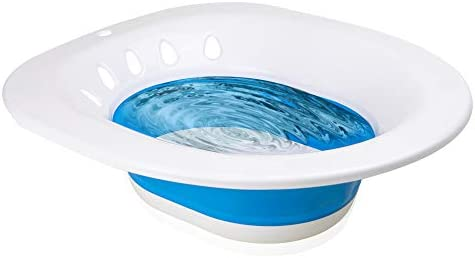 Sitz Bath for Over The Toilet Postpartum Care Anal Postoperative Care Basin for Hemorrhoids product image