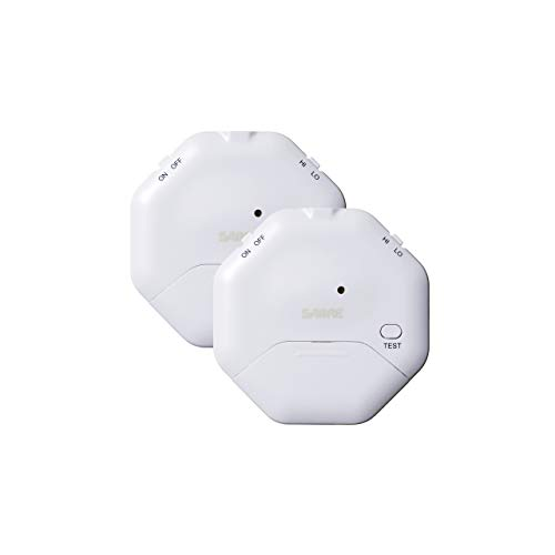 Easy DIY installation non-slip pressure pad 1 pack SABRE HS-DSA-UK Loud 120 dB Home Security Door Stop Burglar Alarm compact and perfect for travel accommodation