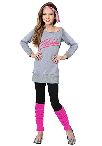Kid's Flashdance Costume Flashdance Outfit for Girls Small