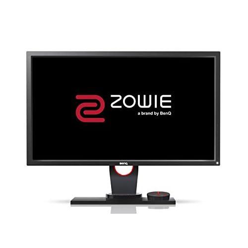 BenQ ZOWIE XL2430 Écran eSports Gaming de 24 pouces, 144 Hz, 1 ms, Pied réglable en hauteur, Télécommande menu (S Switch), Black eQualizer, Noir Gris