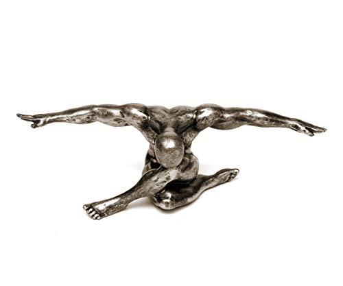 Brillibrum Design Athlet Sportler Sculpture en Forme de Fesses Argenté/doré, Variante 1 - Gold