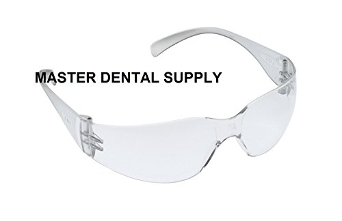 Protective Eyewear Goggle CLEAR SMALL Safety Glasses Dental Lab Med School