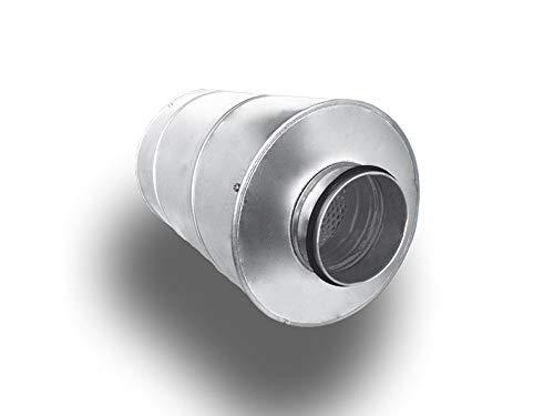 Rohrschalldämpfer Schalldämpfer Telefonieschalldämpfer Lüftung Abluft Zuluft System Ø 125, Länge 60 cm