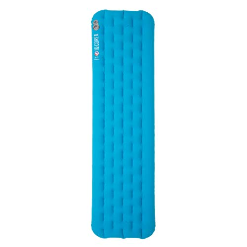 Big Agnes Insulated Q-Core Deluxe Sleeping Pad for Backpacking and Camping, Wide Long(25×78)