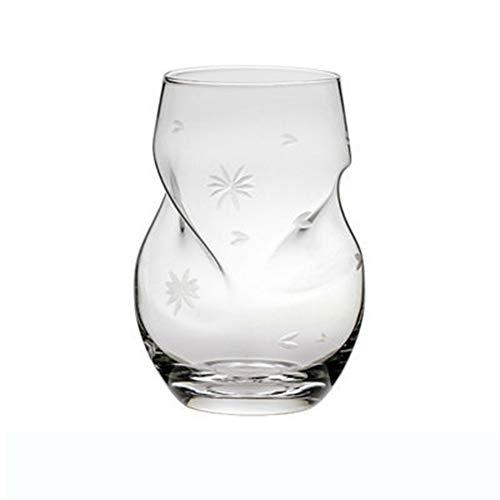 AMAZOM Vasos De Whisky De Cristal, 16 Oz Old Fashioned Rocks Vasos - Vasos De Barra Lowball para Bourbon, Whisky Escocés, Cócteles, Coñac - Vasos Grandes De Cóctel,B