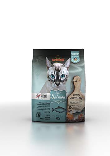 Leonardo GF Salmon [300 g] Nourriture sèche sans céréales pour chats | Aliment complet pour les races de chats à partir de 1 an