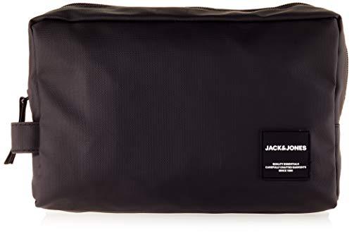 Jack & Jones JACREX Toiletry Bag, para Mujer, Negro, Einheitsgröße