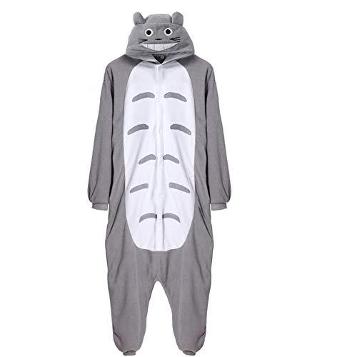 FZH Pijama Unisex Onesie Lindo Queso Gato Disfraces Pijamas de Dibujos Animados Adultos Kigurumi...