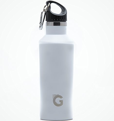 Product Image of the GO Active Flex- Stainless Steel Double Wall Bottle Comes with 3 lids. Use Hot as...