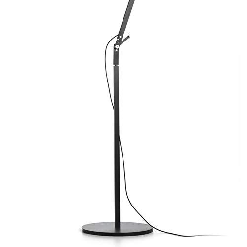 Soporte y Base de Suelo para lámpara Modelo Polo, Color Blanco, 26,5 x 26,5 x 60 centímetros (Referencia: A642-021)
