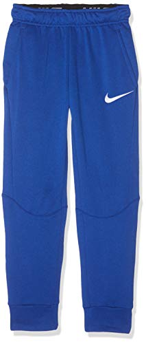 Nike B NK Dry Taper FLC Pantalon Garçon, Noir/Lime Blast, FR (Taille Fabricant : XL)
