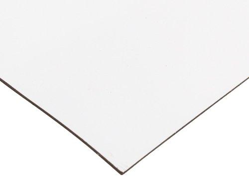 Master Magnetics Flexible Magnet Sheet with White Vinyl, Sign Blank - 1/32