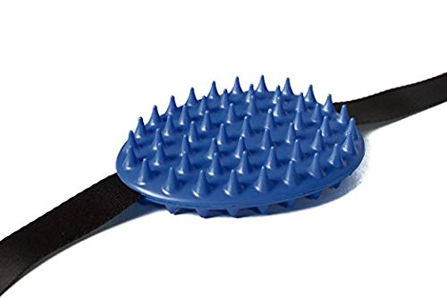 Pet Cactus Scratcher-Massager-Brush in one- Dual sided for long or short hair- 54 Spikes/side- Aggressive & Mild- 4' x 5' pad- Strong ABS Plastic- Adjustable straps- healthy/shiny coats- cat-dog-horse