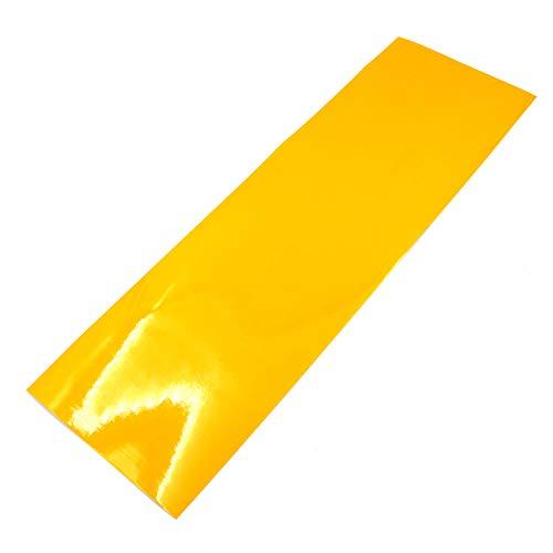 Finest Folia Scheinwerferfolie Tönungsfolie US Style Folie Blinker Nebelscheinwerfer Tint Film (Gelb)