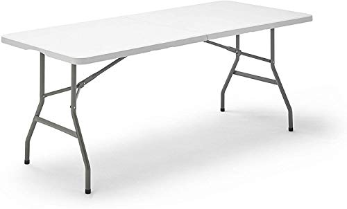 TENCO TG180 mesa plegable, blanco ⭐