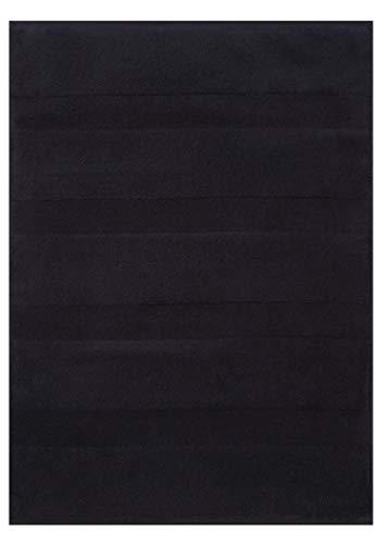 Betz. Scendibagno 50 x 70 cm 100% Cotone Tappeto da Bagno Tappeto da Doccia Deluxe qualità 680 g/m² Colore Nero