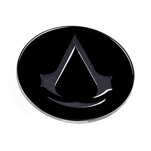 Assassin's Creed Boucle de ceinture Motif logo rond Gris