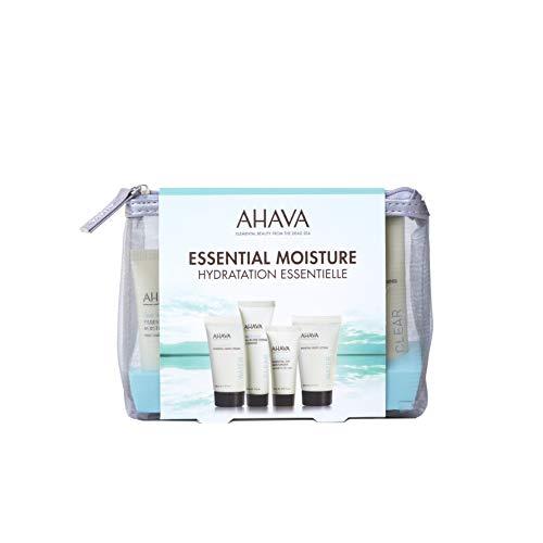 AHAVA Essential Moisture - Kit de productos para el cuidado de la piel, 125 ml
