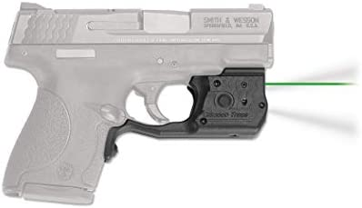 CRIMSON TRACE Green Laserguard Pro for Smith and Wesson M P Shield 9mm and 40 S W LL 801G product image
