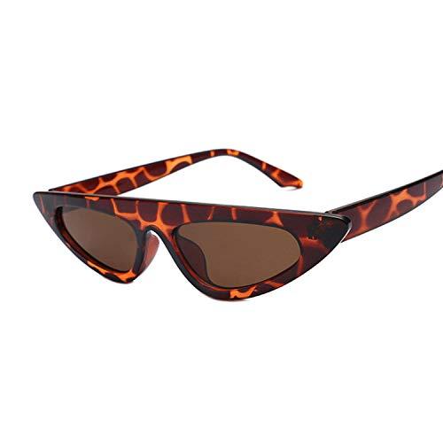 Gafas de sol estilo ojo de gato, gafas de sol vintage femeninas, color verde retro para conducir al aire libre, viajes y deportes