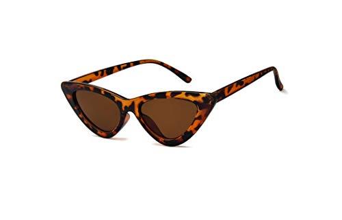 Óculos De Sol Feminino Vintage Olho De Gato Celebridades A-2083 Cor: Marrom-Tartaruga