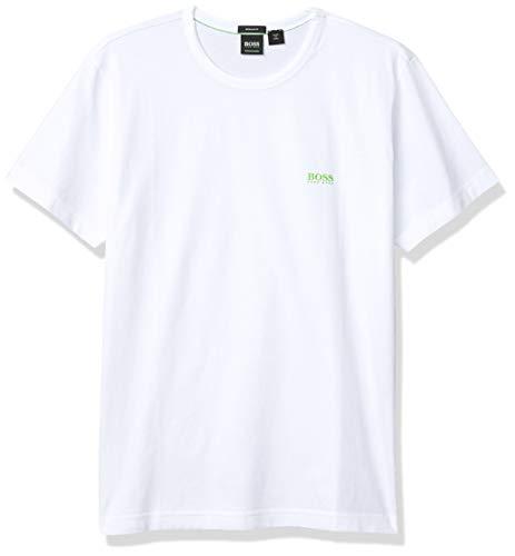 BOSS Herren Tee Regular Fit T-Shirt, Weiß (White 100), XXX-Large
