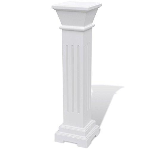 vidaXL Column Pedestal Pillar Plant Floral Flower Stand Yard Wedding Party Decor