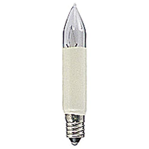 Konstsmide, 5090-720, LED Birne, universal, 2er-Blister, 2 warm weiße Dioden, 6V, E10 Schraubgewinde