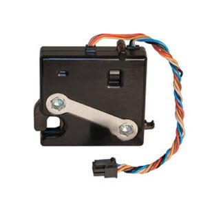 Southco R4-EM-45-161 Electronic Rotary Push-to-Close Latch, Auto Relock, with Latch Status Microswitch, Non-Sealed Connector, 10-24 Thread, PC/ABS Blend, 0