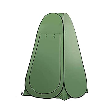 LncBoc Tente de douche Pop Up Tente de douche Tente de bain - Tente de plage Portable - Pour se changer Pour le camping - Pare-soleil - Sac à dos - Abri
