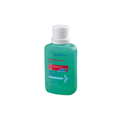 Händedesinfektionsmittel desderman® pure 100 ml Flasche, 30 Stück Hautschutz und -pflege durch bewährtes Rückfettungssystem Inaktiviert Noroviren in 15sek mikrobizid viruzid farb- und parfümfrei