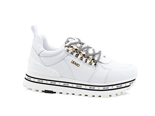 Liu Jo LJWMX, Zapatillas Mujer, Blanco, 38 EU