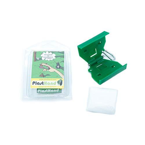 PlastHand Recogedor de Excrementos para Perros Mano de Plástico Recogedora...