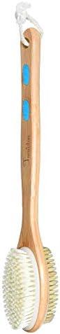 Foruiston Shower Brush Soft and Stiff Bristles Double Sided Massage Brush for Wet or Dry Brushing product image