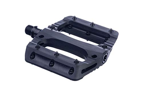 Sixpack Menace Nylon Flat Fahrrad Pedal Stealth schwarz