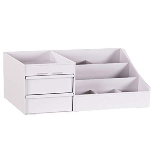Fjsmjl Große Kapazität Kosmetik-Aufbewahrungsbox Make-up Schublade Organizer Schmuck Nagellack Make-up Container Desktop Kleinteile Aufbewahrungsbox
