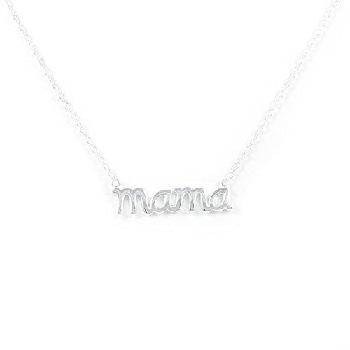 Monde Petit Collar de Plata con Mama