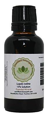 Lugols Iodine 15% 30ml by Qualified Naturopath