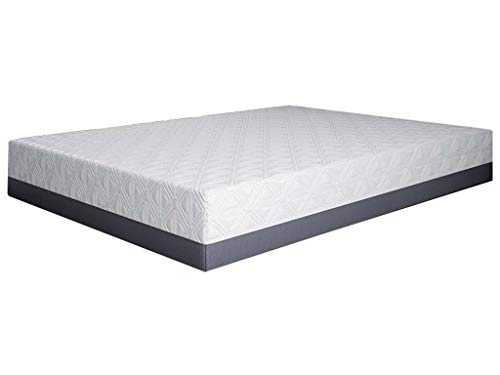 Learn More About 12 Inch Cooling Gel Infused Memory Foam Mattress - Soft Mattress - CertiPUR-US Cert...