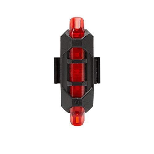 Fahrrad Rücklicht für mehr Sichtbarkeit und Schutz LED Fahrradlicht Rücklicht Rückleuchte Fahrradbeleuchtung Allegorly wiederaufladbar über USB Fahrradrücklicht Gepäckträgerrücklicht