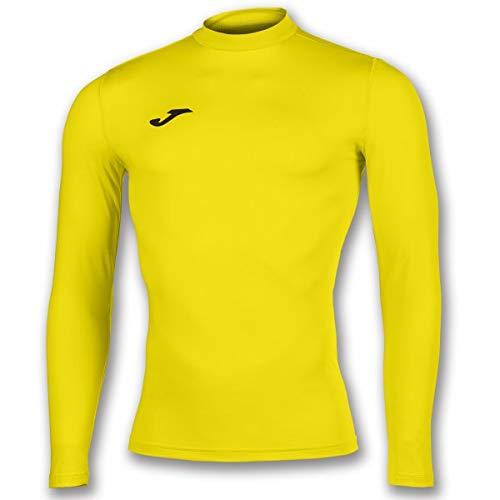 Joma Academy Camiseta Termica, Hombre, Amarillo, L-XL