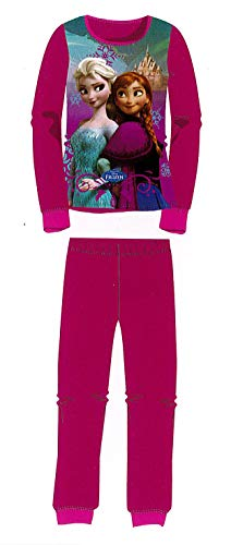 Pyjama Frozen Fuchsia, Pink 6 Jahre
