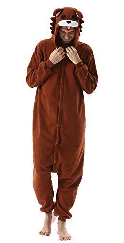 DELEY Unisexo Adulto Caliente Animal Pijamas Cosplay