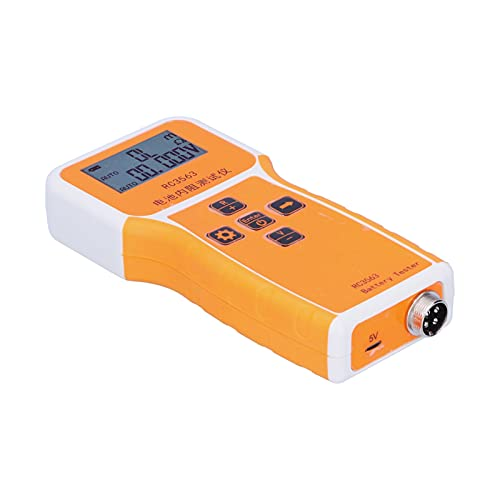 Testeur de résistance Interne RC3563, détecteur de Batterie au Lithium-Acide Conception raisonnable et précise pour testeur de Batterie pour Usine d'entretien de Batterie Domestique