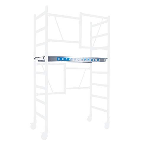 New Euroscaffold - Baugerüst Zubehör - Extra Befestigungsgerüst Plattform mit Luke ✓ TÜV-zertifiziert - Für Komplette Steigleitungen Auch Teil A + D Bestellen