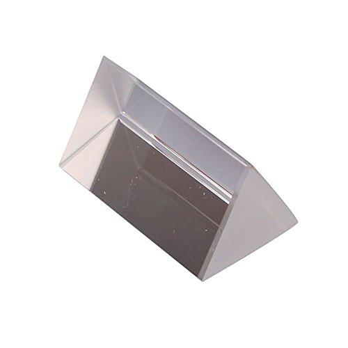 Bocideal 1 x 5 cm Optisches Glas Dreieckprisma Physik Lehrlicht Spektrum Modell