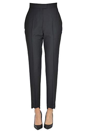 ACNE STUDIOS Wool and Mohair Trousers Woman Black 46 IT